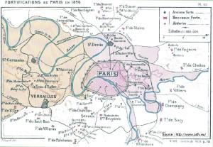Fortifications de Paris 1896