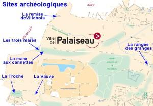 Sites archéologiques du plateau de Palaiseau