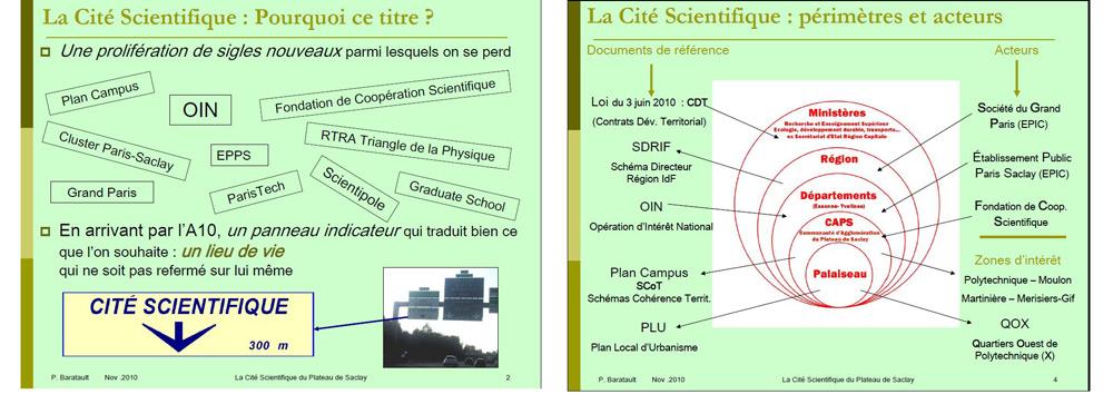 Conférence Cité Scientifique